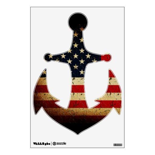 Usa Stars And Stripes Anchor Tattoo Idea American Flag Tattoo American Flag Flag Tattoo