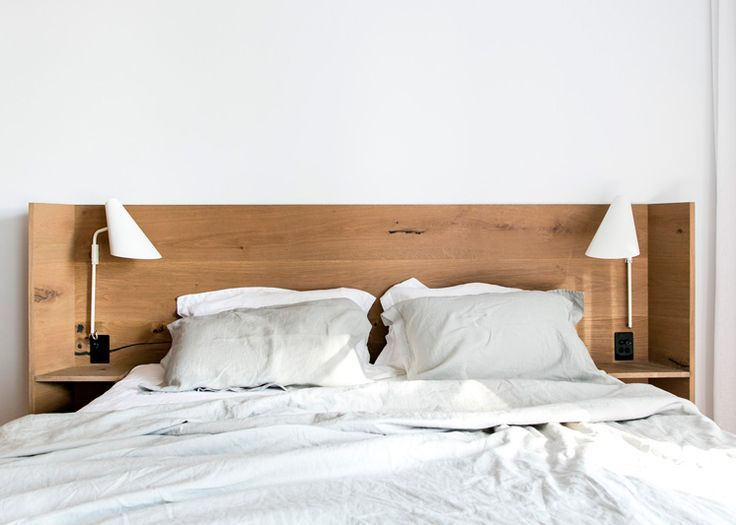 Image Result For Modern Timber Headboard