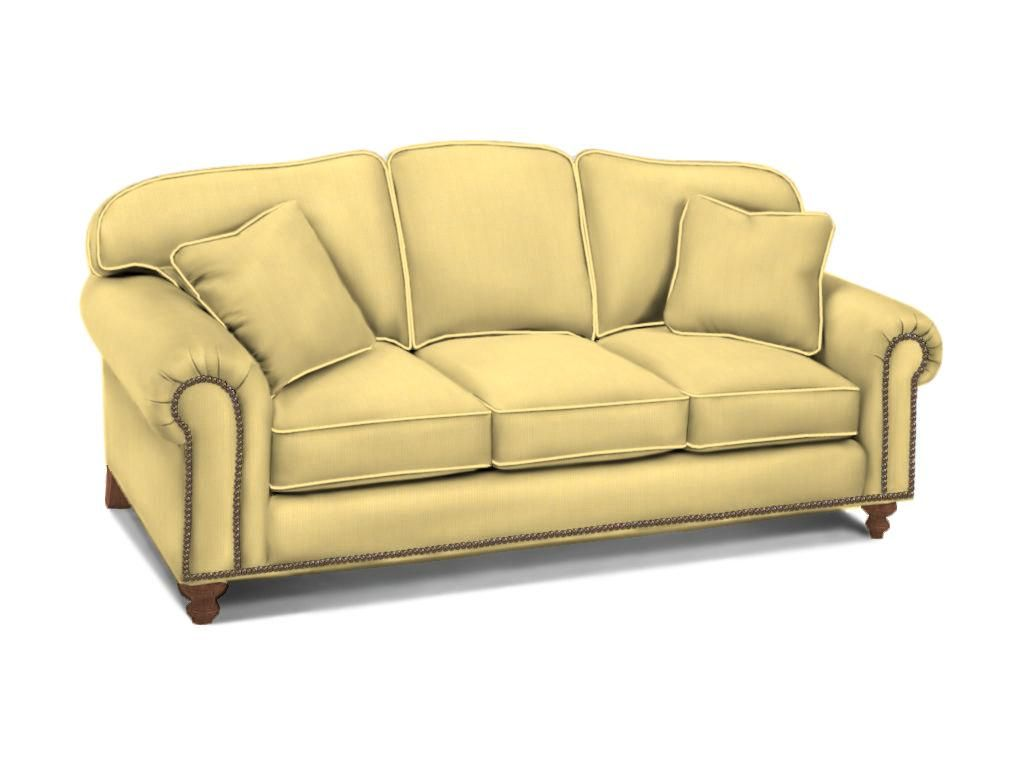 For Drexel Heritage Rupert Three Cushion Sofa D9969 S And Other Living