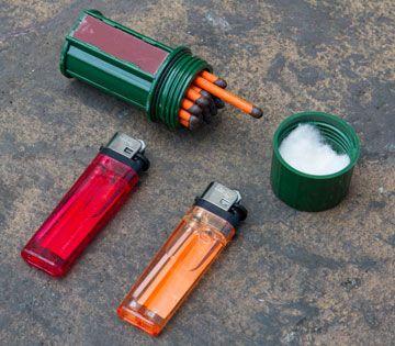 urban survival kit fire
