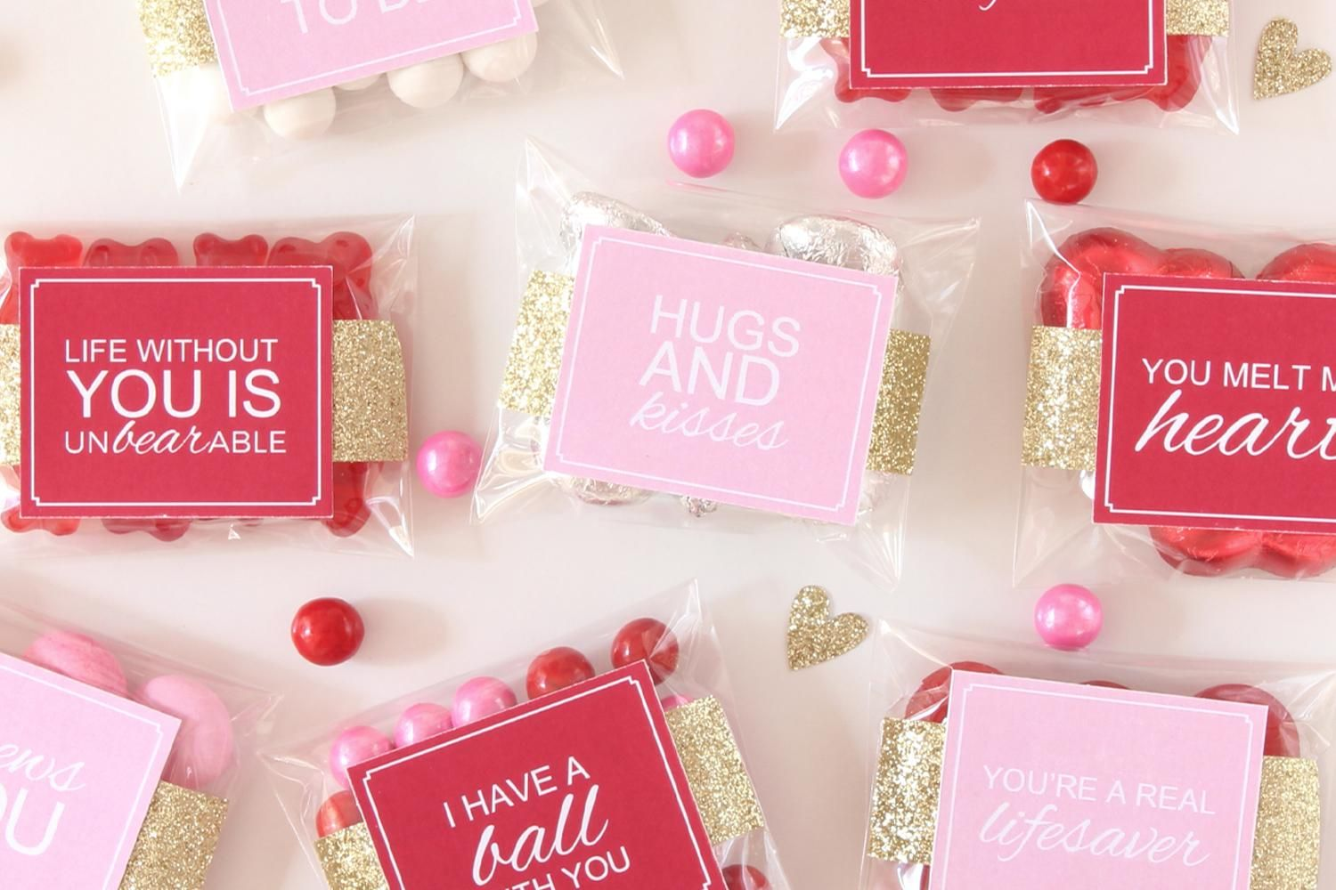 Image result for candy bag with note