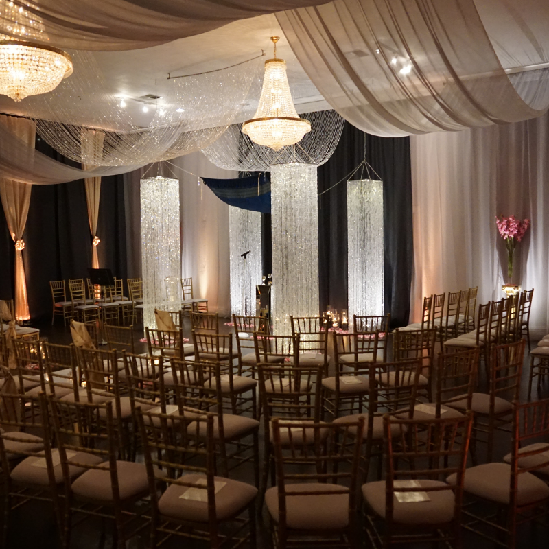 New Year's Eve wedding at The Liberace Mansion.