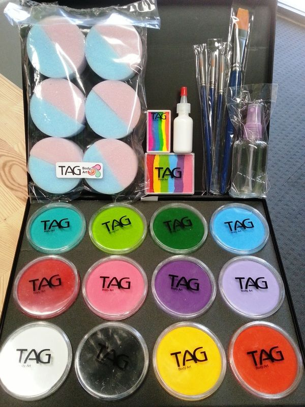 Face painting starter kits face paint supplies perth for Face paints supplies