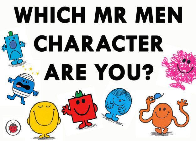 Mr Men Characters