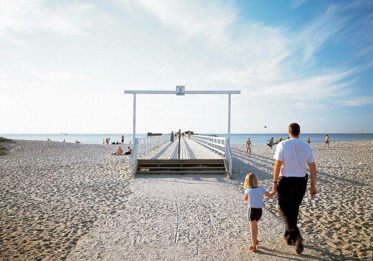 Ribersborg beach in Malmö