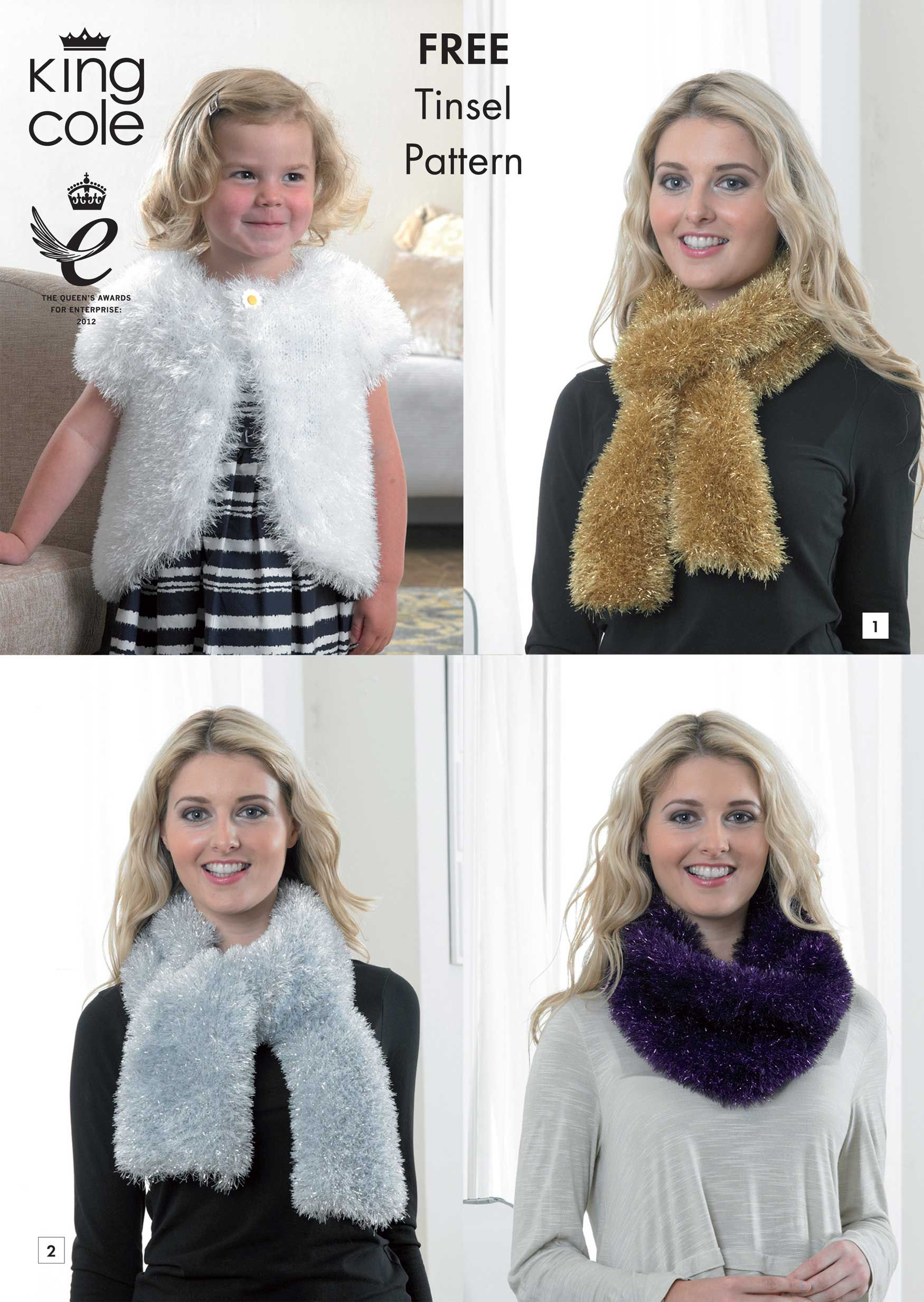 Tinsel Pattern | Knitting Pattern | Tinsel Chunky | Knitting Revival ...