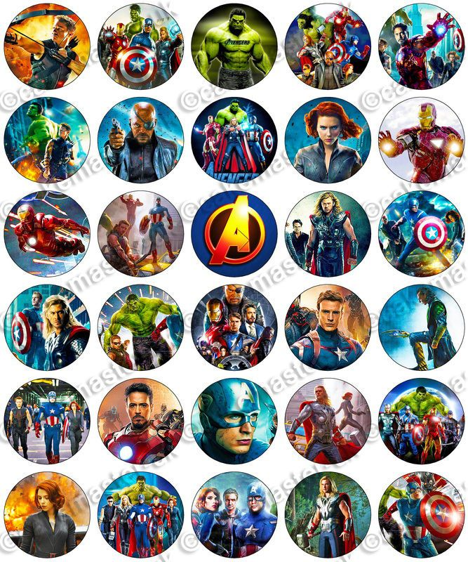 Remarkable Details About 30 X Avengers Movie Party Edible Rice Wafer Paper Funny Birthday Cards Online Elaedamsfinfo