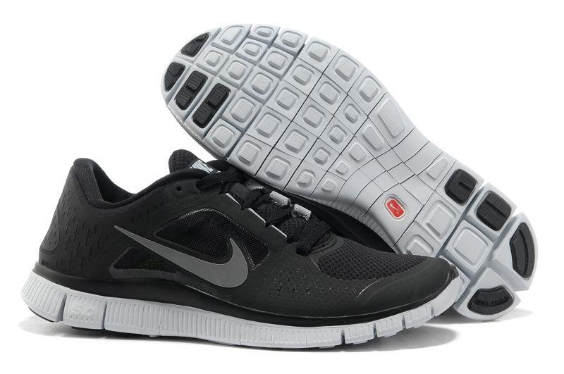 Black Wolf Grey Reflective Silver Nike Free Run 3 Women's Running Shoes # Grey #Womens #Sneakers | Grey Sneakers for Womens | Pinterest | Running  shoes,…