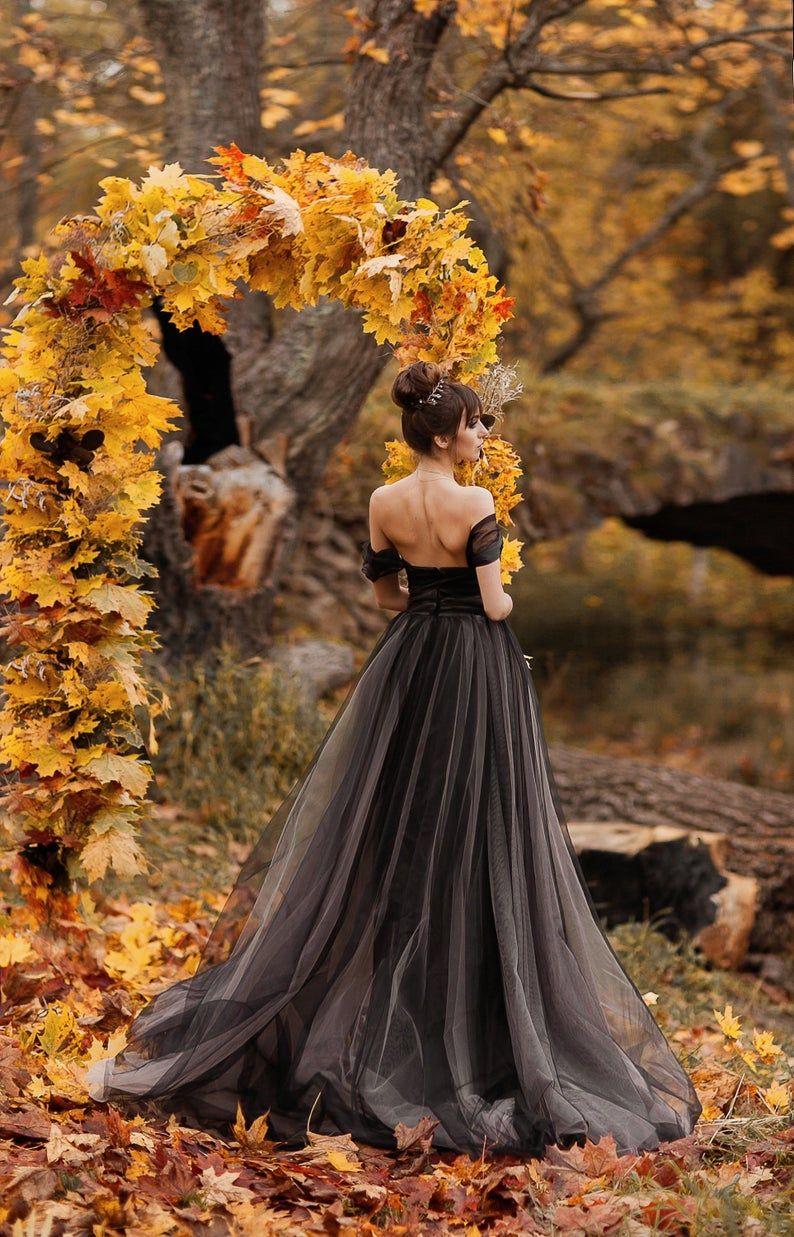 Black Wedding Dress Alternative Wedding Dress Black Tulle Wedding Dress Princess Tulle Dress Mistique Fancy Wedding Dresses Black Wedding Dresses Gothic Wedding Dress [ 1237 x 794 Pixel ]