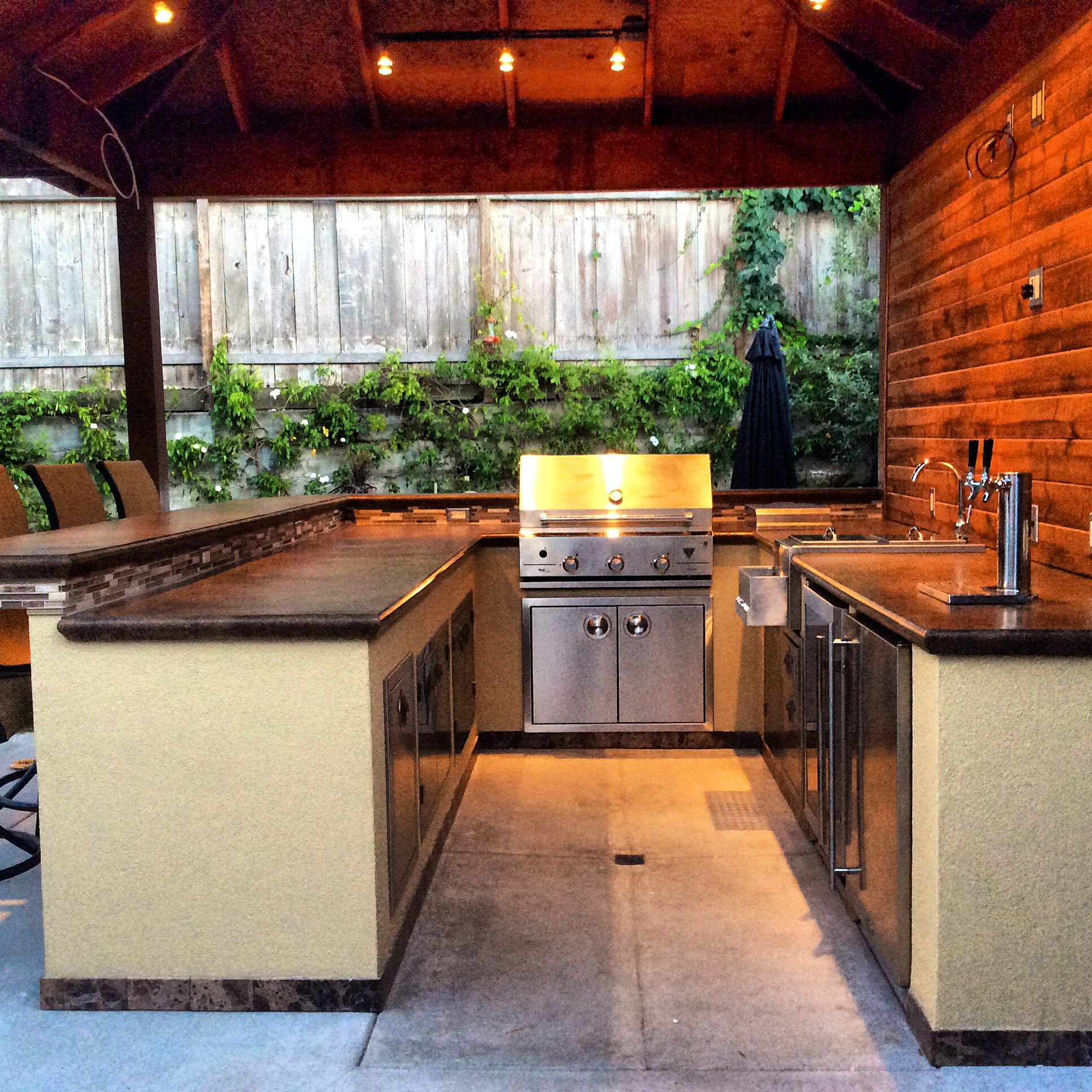 Diy outdoor kitchen outdoor kitchen and backyard living