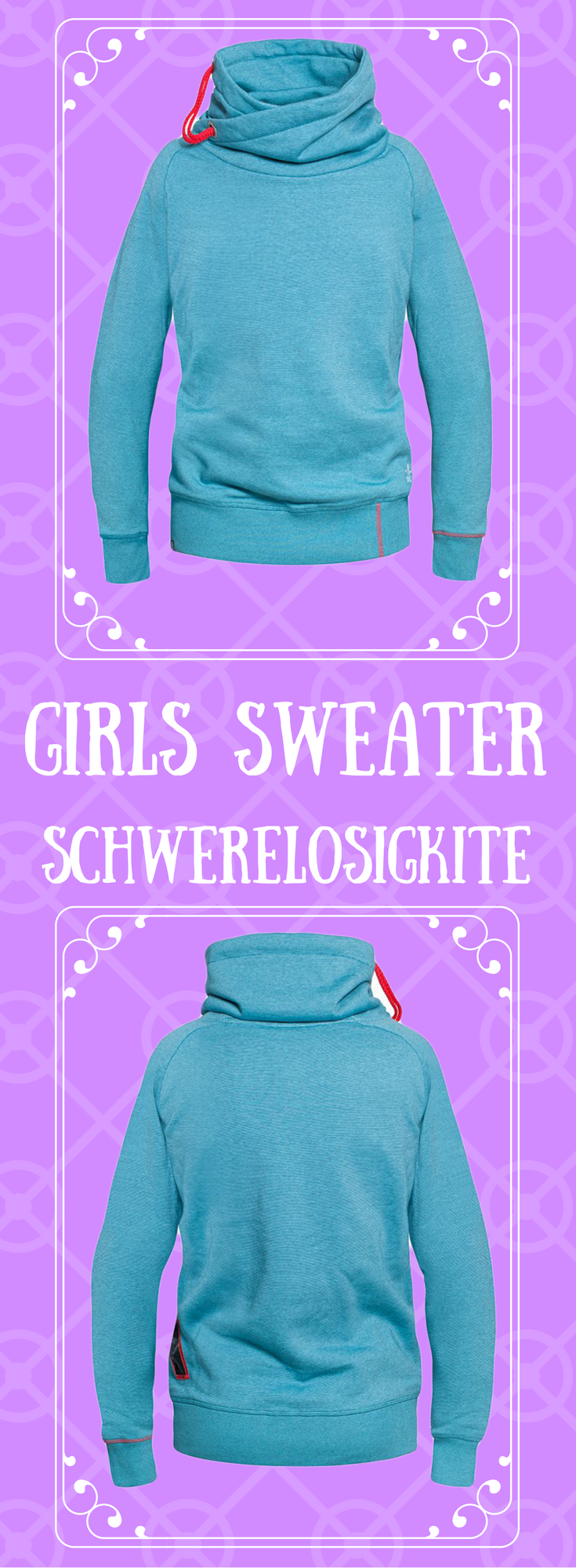 Girls Sweater | SWLK | Kitesurf Klamotten Kiteboarding