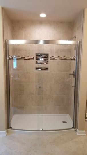 American Standard Ovation 60 In X 72 In Framed Bypass Shower Door In Satin Nickel And Clear Glass Am005 Shower Doors Bathroom Remodel Pictures Shower Remodel