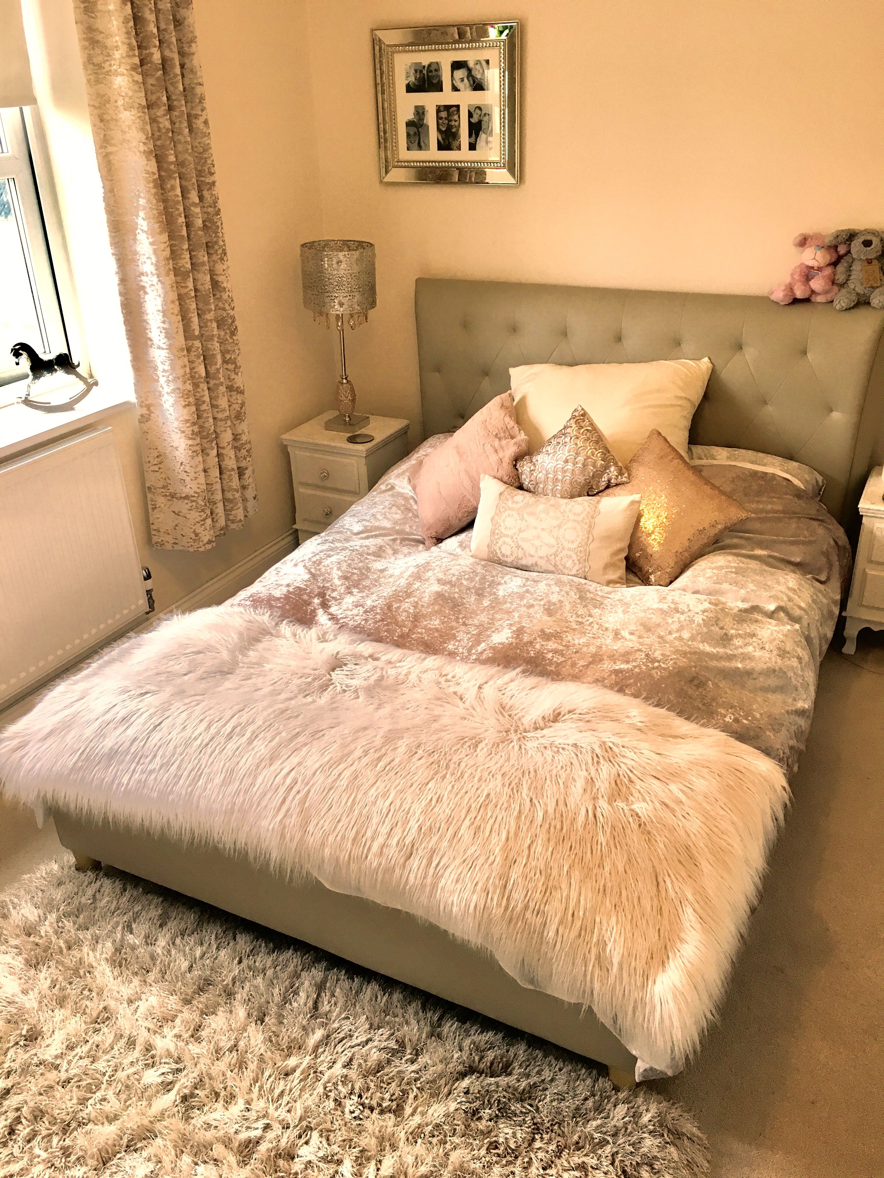 Rose gold Bedroom Decorating Ideas Pinterest