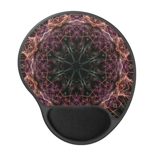 Web of Color Gel Mousepad