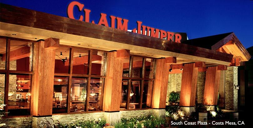 Claim Jumper Restaurant South Coast Plaza Costa Mesa Ca