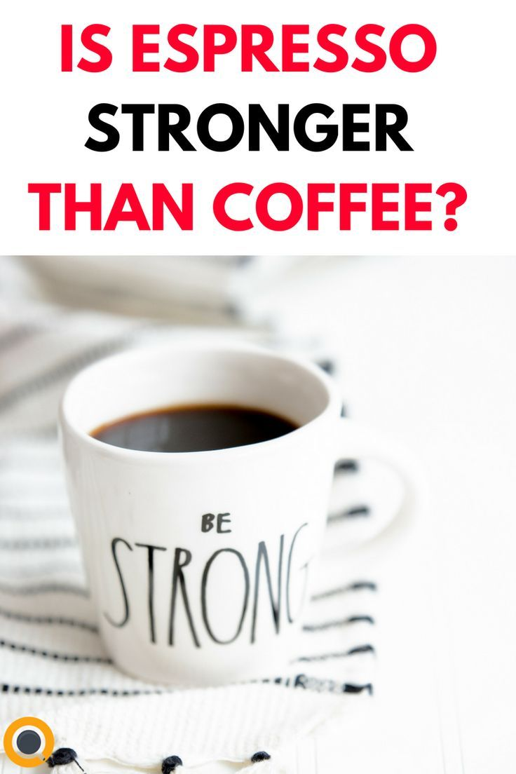 Does Espresso Have More Caffeine Than Coffee? Coffee