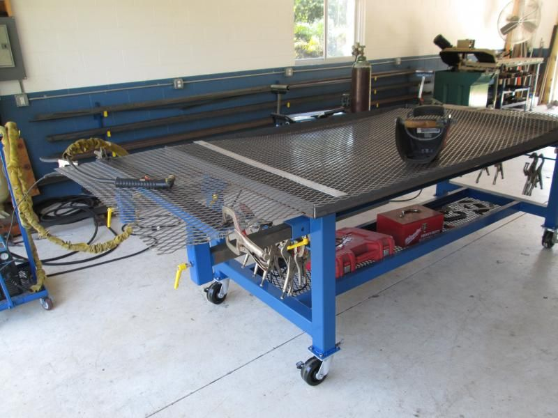 Pin By Kendall Chaffee On Welding Carts Welding Table