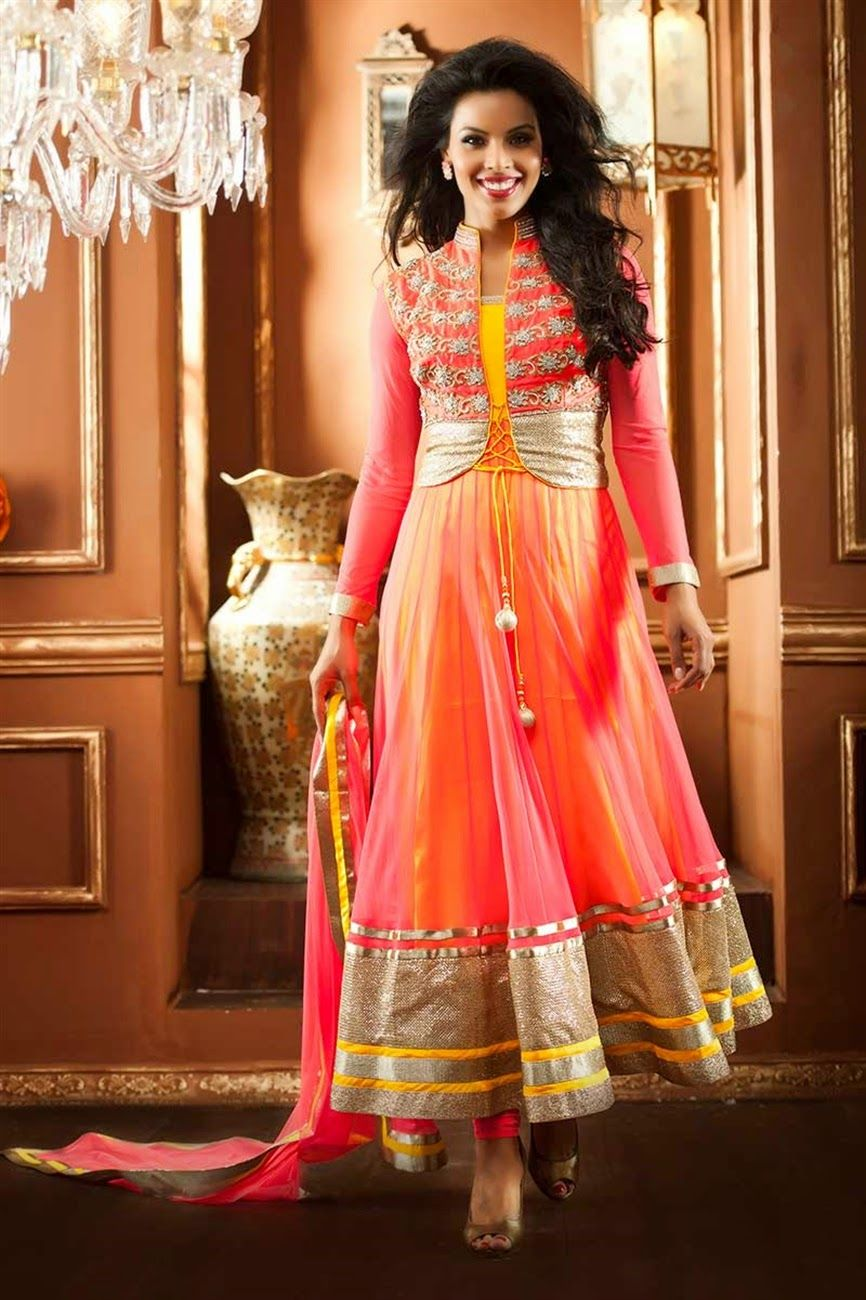 Stylish Koti Designs For Girls 2015 2016 Claasy Jacket Suits