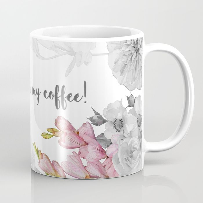 Perfect FLORAL DESIGN Coffee Mug #mug #cup #coffee #quote #quotes #white