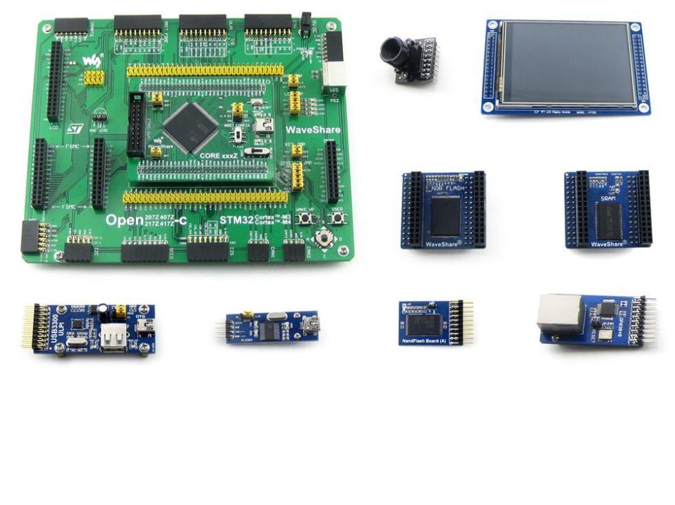 STM32 ARM Cortex-M4 Development Board STM32F407ZxT6 + 3 2