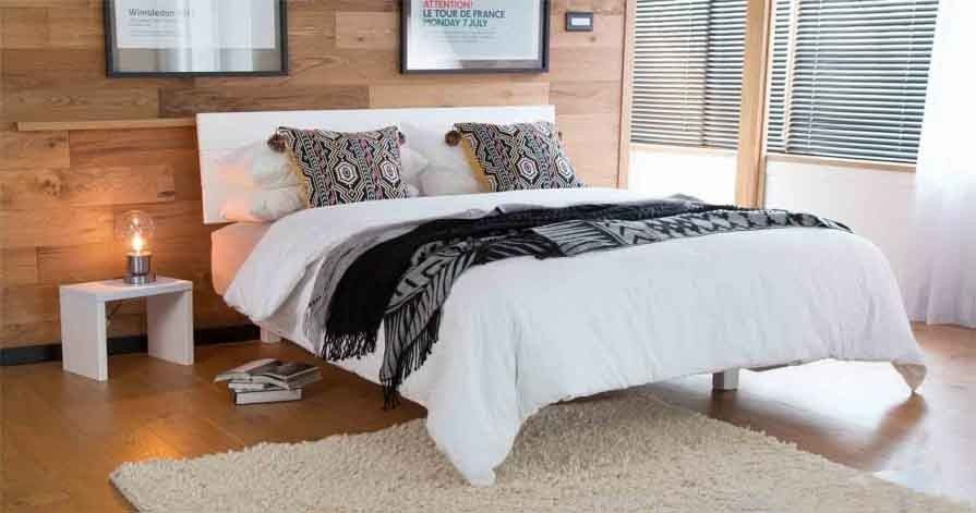 Low Shoreditch Bed (Space Saver) | Camas