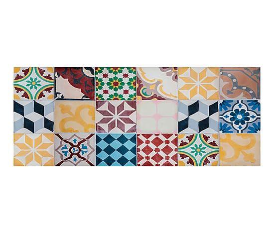 Alfombra de pvc Mosaico Vintage - 50x140 cm