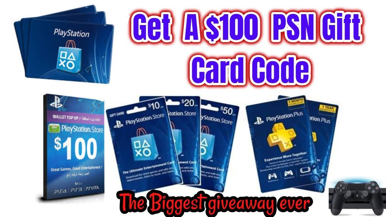 Psn gift card giveaway in 2020 gift card giveaway gifts