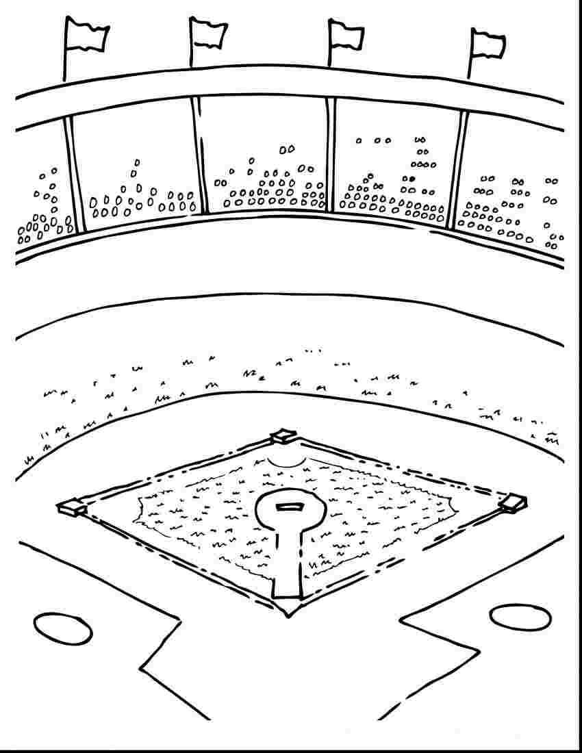 Baseball Field Coloring Pages Printable 30 Free Printable Baseball
