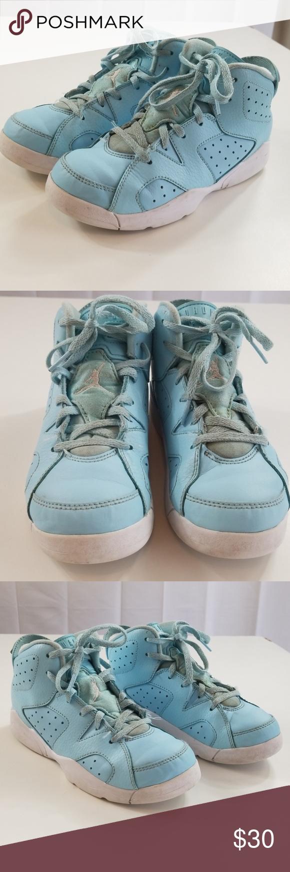fda1596b21e328 Nike Air Jordan 6 Retro GG VI Pantone Shoes A4 Sku 543390 407 Girls Youth  size