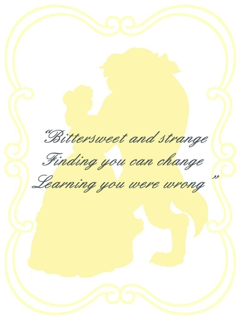Great Quote From Beauty And The Beast Beauty And The Beast