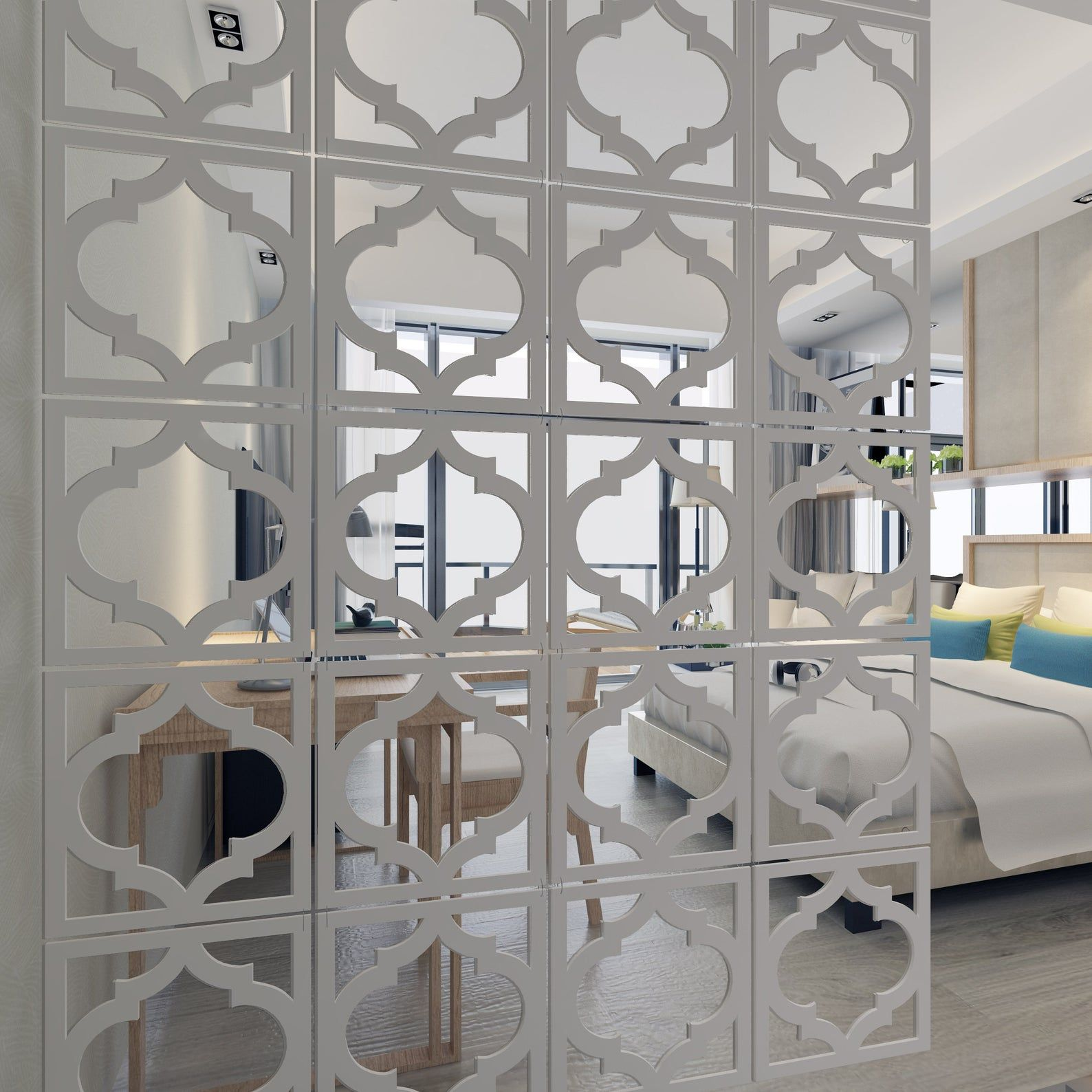 Modern Partitions Panel Screen Hanging Wall Room Privacy Etsy Modern Partition Hanging Room Dividers Walls Room My trellis room divider