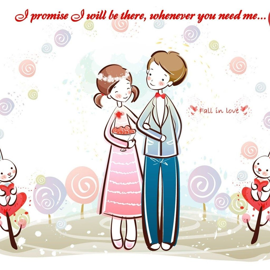 Images of love couples animated with quotes download - Love cartoon hd ...