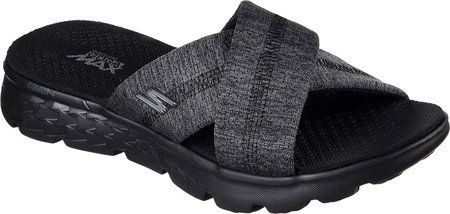 2b850db5b0a7 Skechers Performance Womens On The Go 400 Blissful Slide Flip Flop  BlackGray 9 M US    To view further for this item