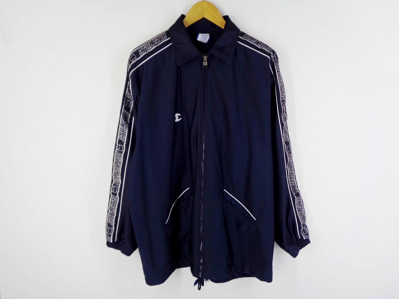 Vintage Champion track jacket 90s jaspo athletic sidetape