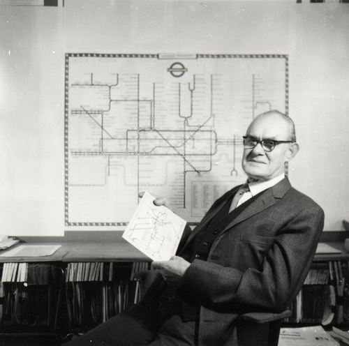 Harry Beck. The genius behind London's iconic subway map.