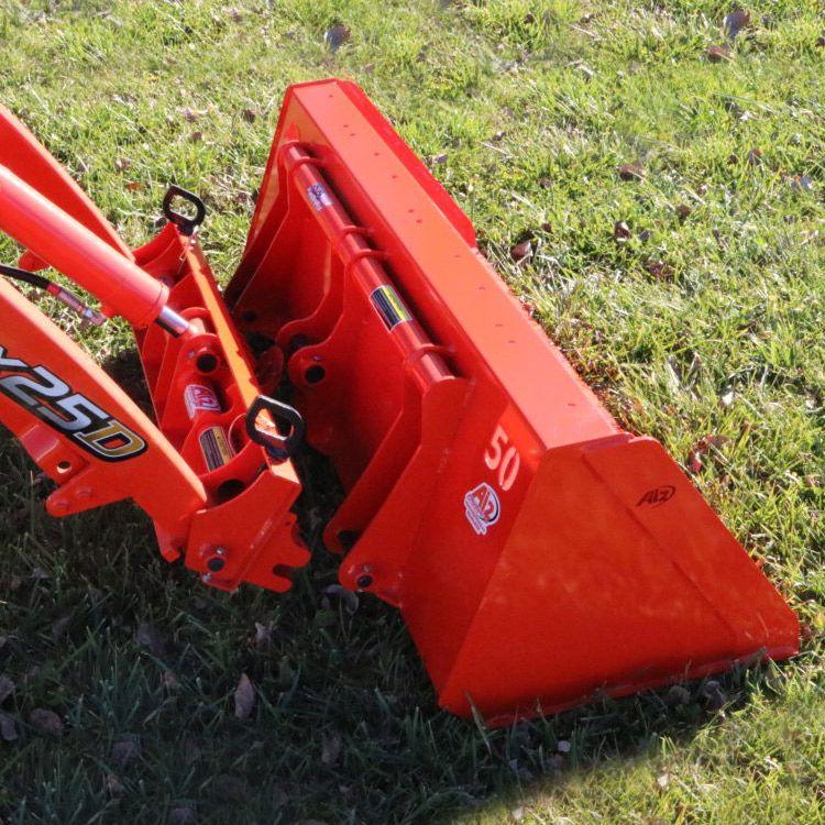 Heavy Duty High Volume Dirt Bucket for Kubota BX Tractor