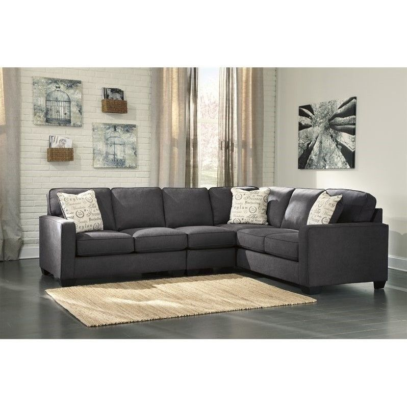 Lowest Price Online On All Ashley Furniture Alenya Right Facing 3 Piece