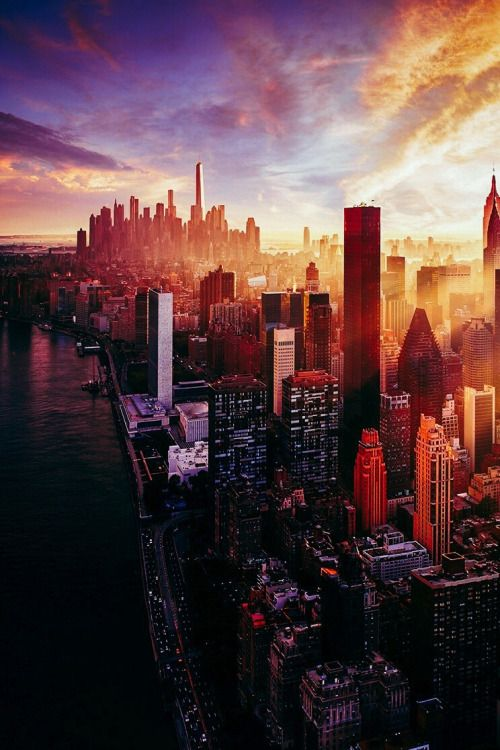 Photograph Amazing City View By Sander Van Maurik On