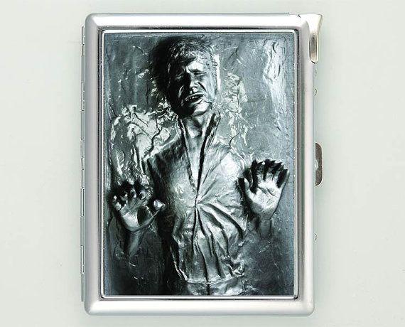 2d han solo carbonite cigarette case with lighter wallet business 2d han solo carbonite cigarette case with lighter wallet business card holder attention colourmoves