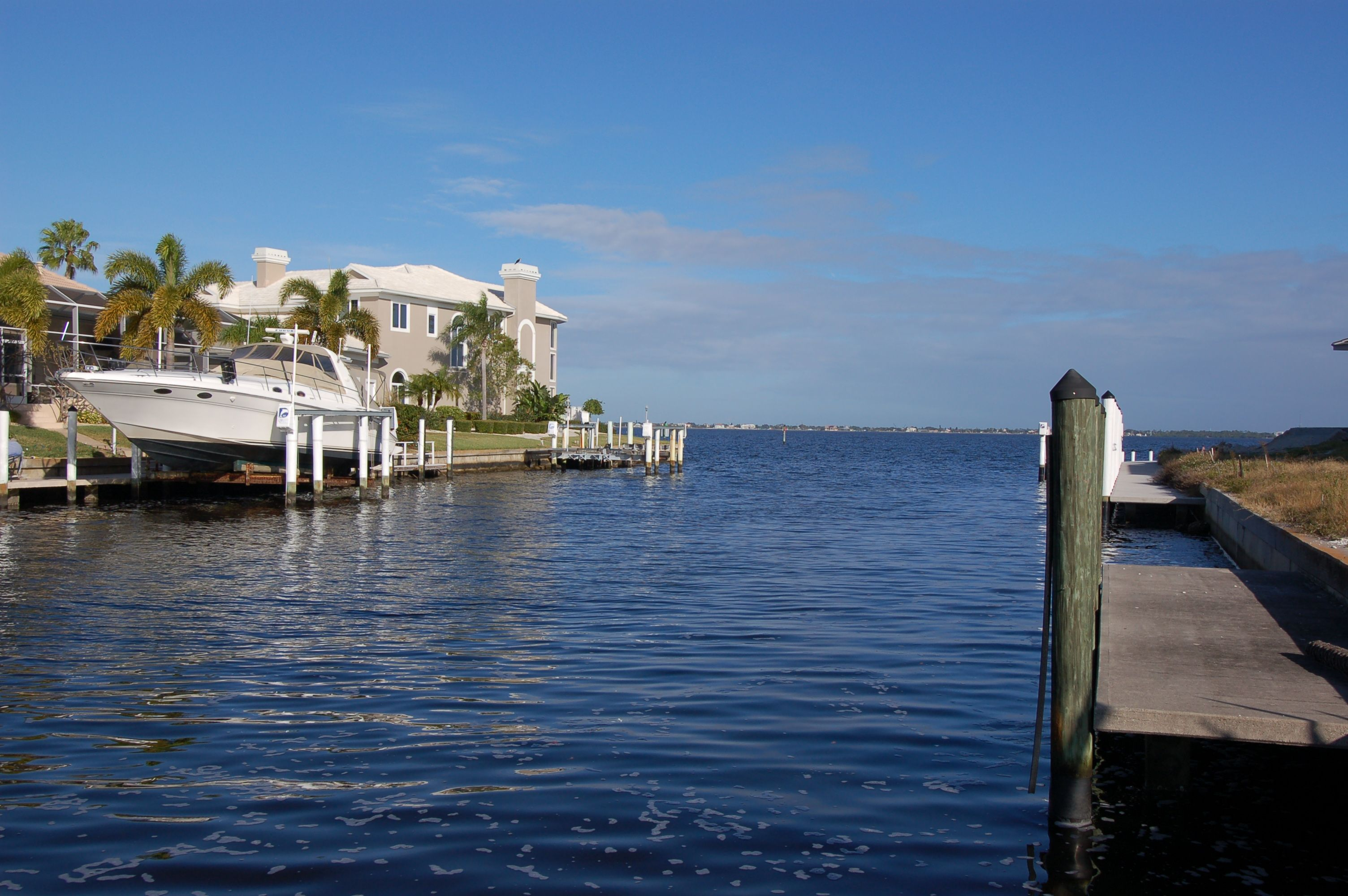 Last Week We Added A New Listing With An Amazing Waterfront View Could You Imagine Having This View From Your Back Yard Check Th Punta Gorda Ocean Waterfront
