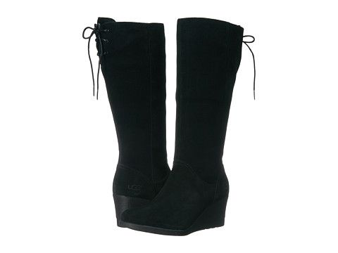 9417ebe92d5 UGG Dawna - Black   Shoes   Uggs, Shoe boots, Black suede boots