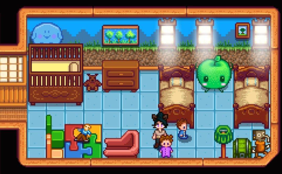 The Children's Room >Stardew Valley>House Interior ...