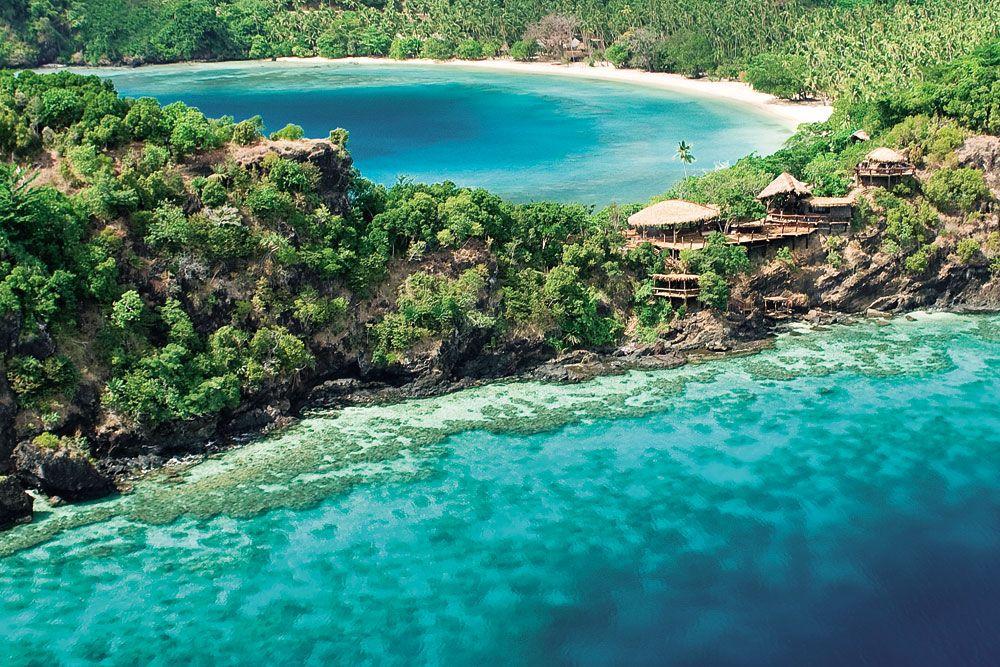 Ultra-exclusive island hideaway... Laucala Island Resort in Fiji ...