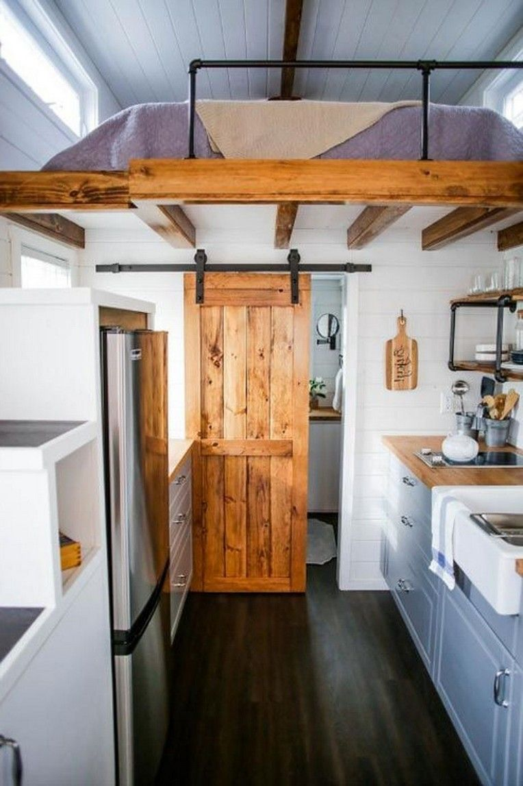30 Extraordinary Small House Kitchen Design Ideas Best For Maximize Your Space Modern Tiny House Tiny House Bathroom Tiny House Interior Design