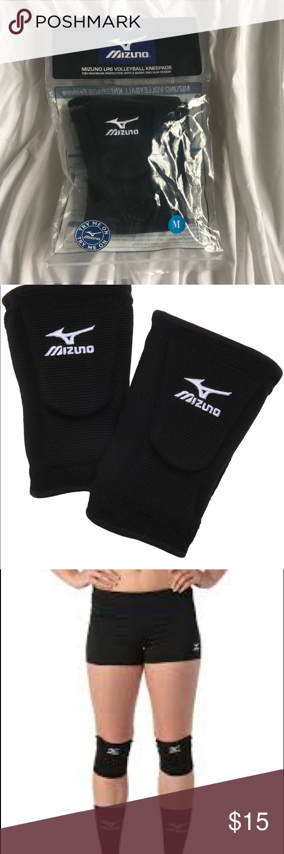 Nwot Mizuno Volleyball Knee Pads Volleyball Knee Pads Mizuno Volleyball Mizuno