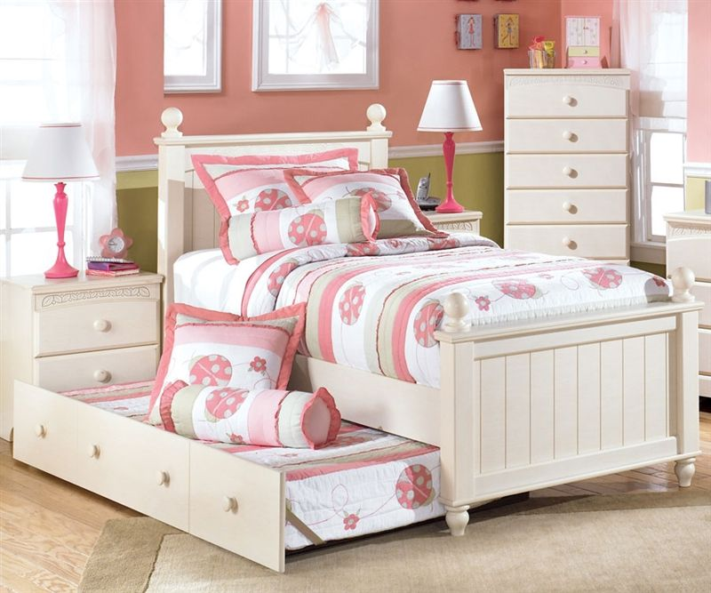 Kids Twin Bed Cottage Retreat By Ashley Furniture At Kensington Furniture Girls Bedroom Sets