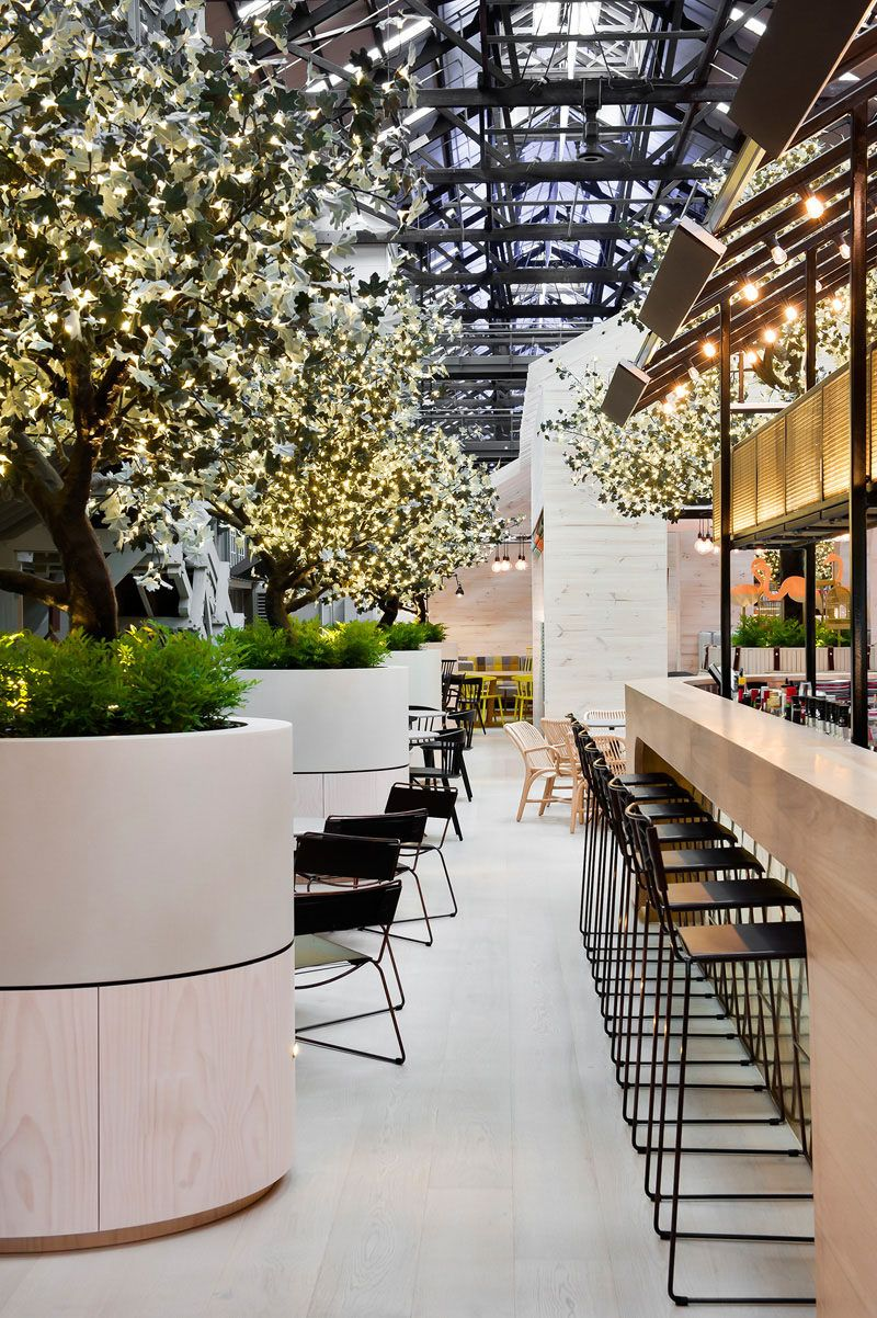 A Glimpse Of The Interior Of The Ovolo Hotel In Sydney