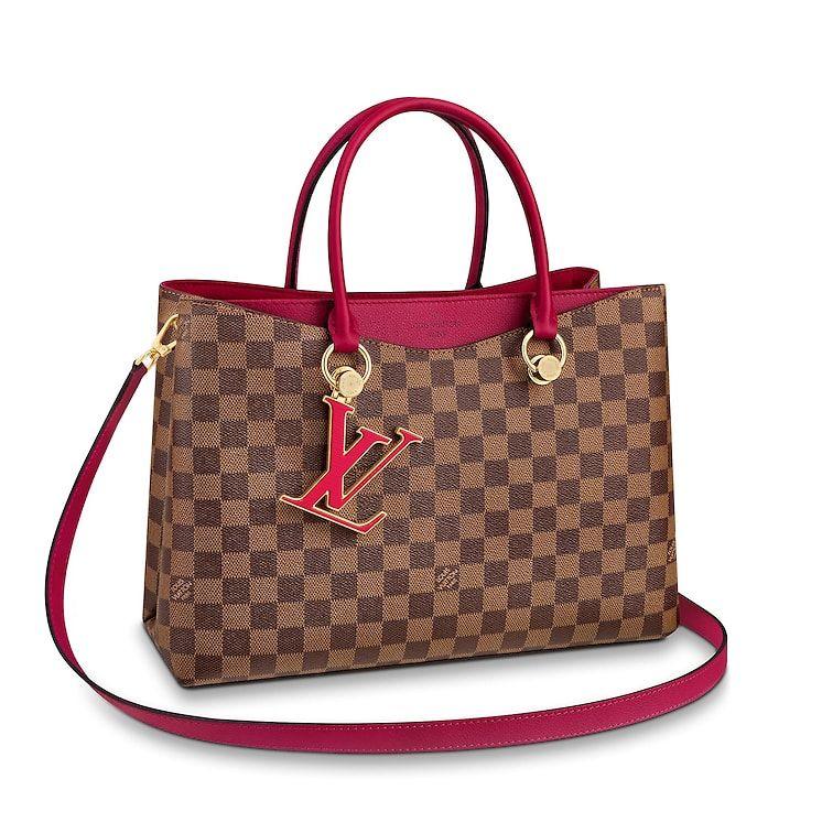 17a996a3d View 1 - Damier Ebene HANDBAGS All Handbags LV Riverside | Louis Vuitton ®