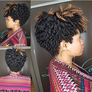 Looped Textured Curls Premier Crochet Braid Curls Brand A