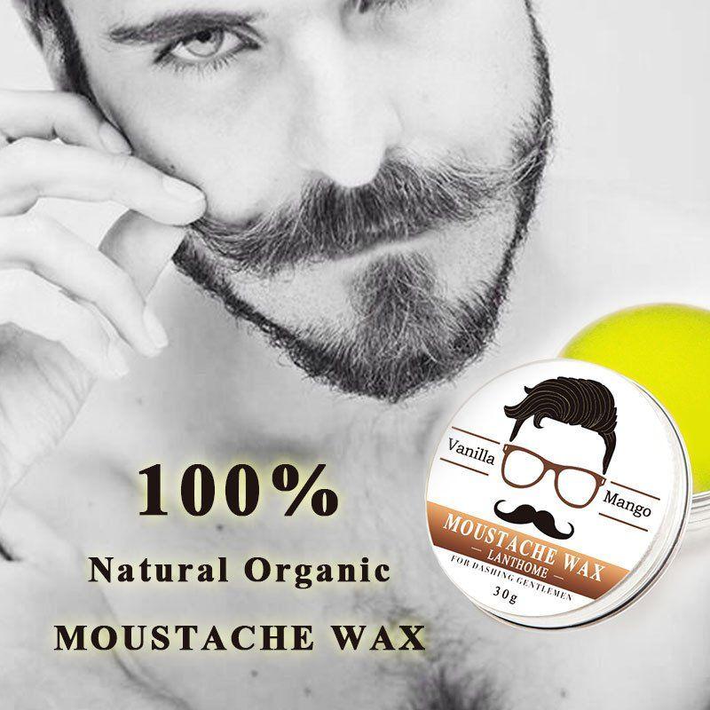 100 Natural Organic Beard Moustache Wax